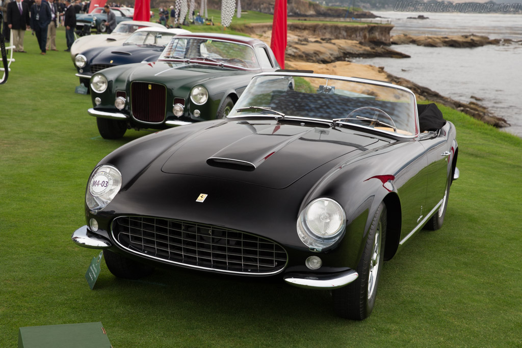 Ferrari 375 MM Pinin Farina Cabriolet Speciale - Chassis: 0488AM - Entrant: The Golomb Family Trust  - 2017 Pebble Beach Concours d'Elegance