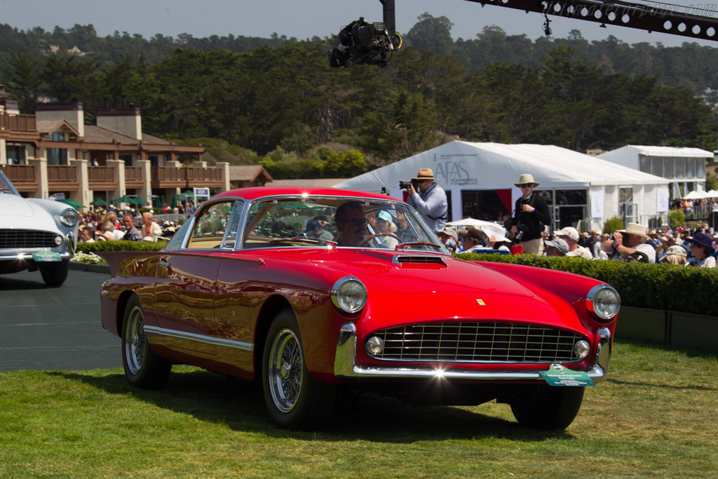 Ferrari 410 Superamerica Boano Coupe - Chassis: 0477SA - Entrant: Anne Brockington Lee / Robert M. Lee Automobile Collection  - 2017 Pebble Beach Concours d'Elegance