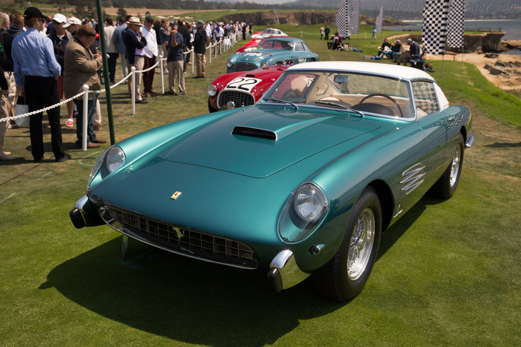 Ferrari 410 Superamerica Pinin Farina Coupe - Chassis: 0719SA - Entrant: Lee & Joan Herrington  - 2017 Pebble Beach Concours d'Elegance