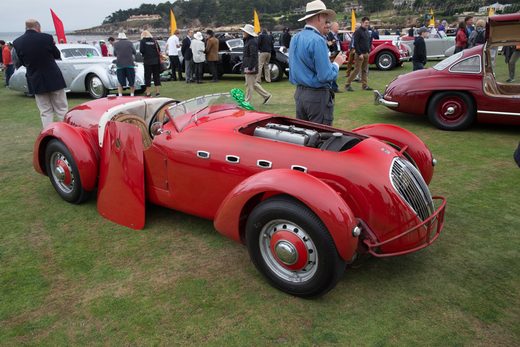 Healey Silverstone  - Entrant: Rich Myers  - 2017 Pebble Beach Concours d'Elegance