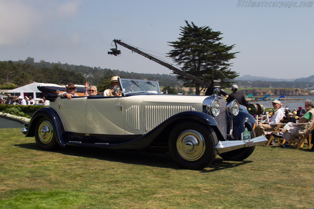 Hispano Suiza J12 Saoutchik Transformable Grande Luxe  - Entrant: Mark & Sonia Richter  - 2017 Pebble Beach Concours d'Elegance