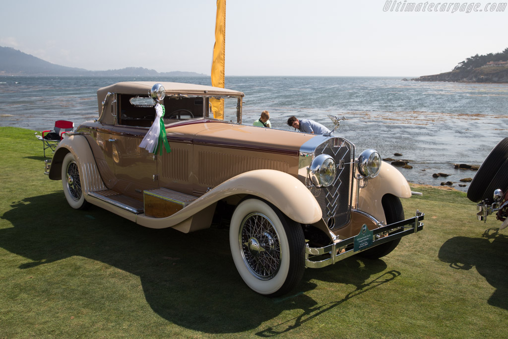 Isotta Fraschini 8A Castagna Commodore  - Entrant: The Stephens Family  - 2017 Pebble Beach Concours d'Elegance