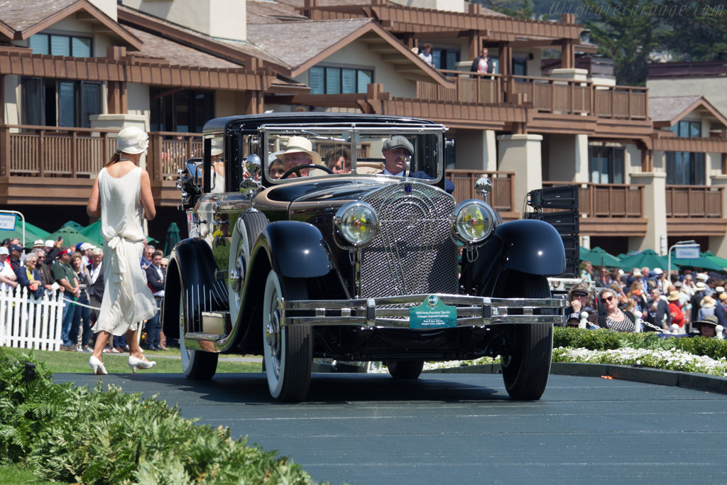 Isotta Fraschini 8A Castagna Imperial Cabriolet  - Entrant: Paul & Joyce Toberty  - 2017 Pebble Beach Concours d'Elegance