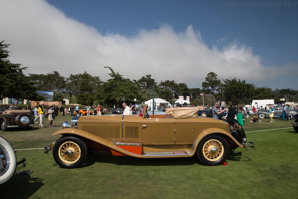 Isotta Fraschini 8A SS Castagna Commodore  - Entrant: Blake & Lauren Atwell  - 2017 Pebble Beach Concours d'Elegance