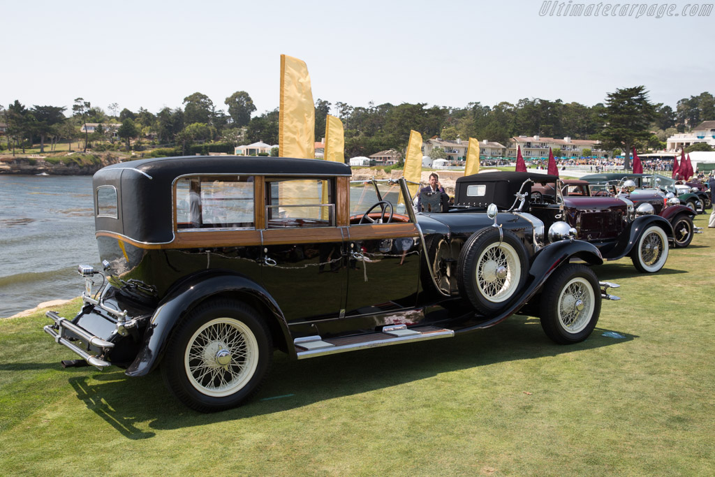 Isotta Fraschini 8A Saoutchik Coupe Chauffeur  - Entrant: Indianapolis Motor Speedway Museum  - 2017 Pebble Beach Concours d'Elegance