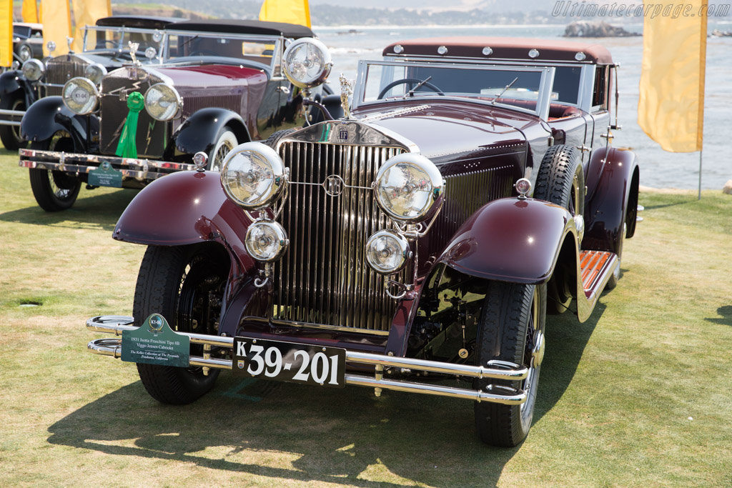 Isotta Fraschini 8B Viggo Jensen Cabriolet  - Entrant: The Keller Collection at The Pyramids  - 2017 Pebble Beach Concours d'Elegance