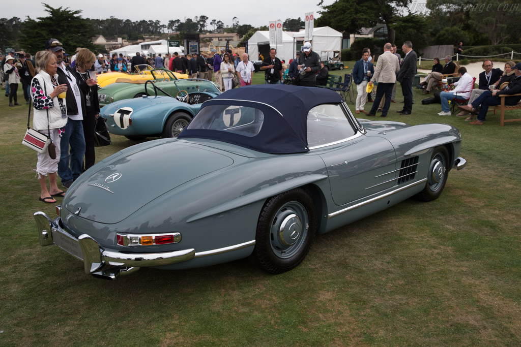 Mercedes-Benz 300 SL Roadster  - Entrant: Mercedes Benz Classic  - 2017 Pebble Beach Concours d'Elegance