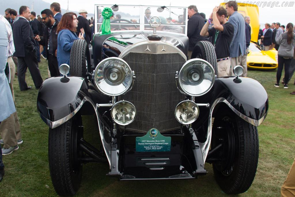 Mercedes-Benz 630K Harrington Drophead Coupe - Chassis: 32019 - Entrant: Nicholas & Shelley Schorsch  - 2017 Pebble Beach Concours d'Elegance