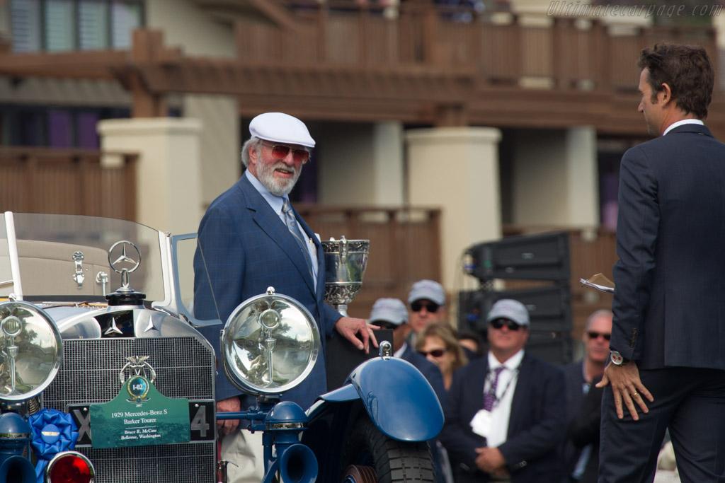 Mercedes-Benz 680 S Barker Tourer - Chassis: 35956 - Entrant: Bruce R. McCaw  - 2017 Pebble Beach Concours d'Elegance