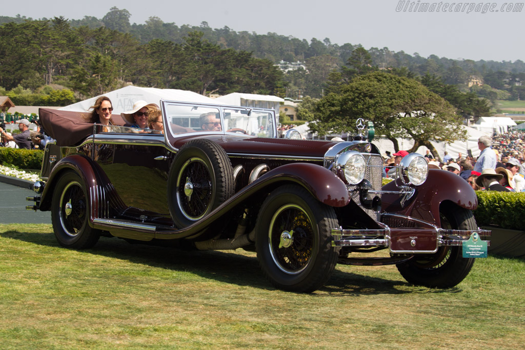 Mercedes-Benz 710 SS Castagna Cabriolet  - Entrant: The Keller Collection at The Pyramids  - 2017 Pebble Beach Concours d'Elegance