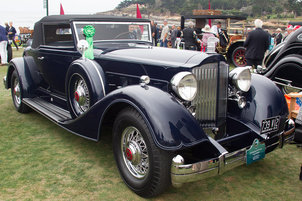 Packard 1107 Twelve Coupe Roadster  - Entrant: Jack Boyd Smith Jr.  - 2017 Pebble Beach Concours d'Elegance