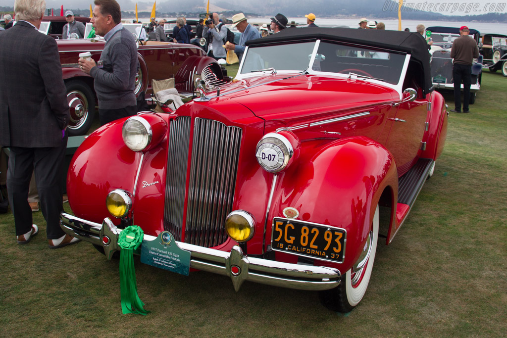 Packard 120 Eight Darrin Convertible  - Entrant: Ralph & Adeline Marano  - 2017 Pebble Beach Concours d'Elegance