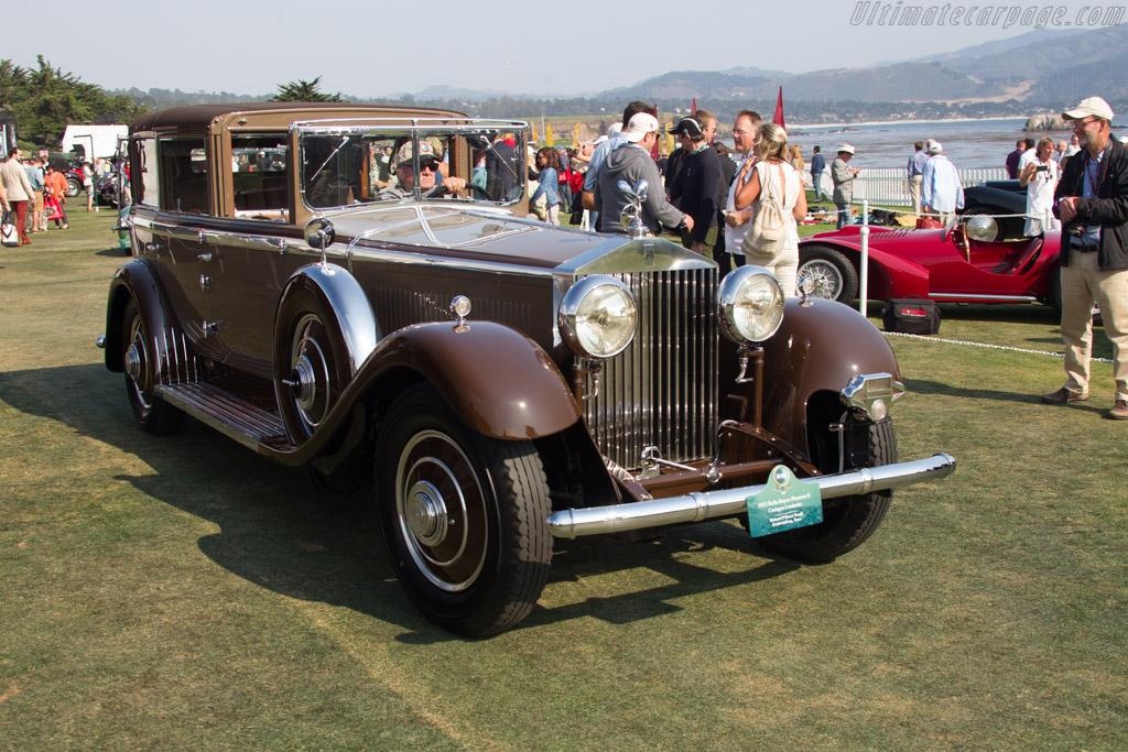 Rolls-Royce Phantom II Castagna Landaulet - Chassis: 282AJS - Entrant: Richard & Karen Atwell  - 2017 Pebble Beach Concours d'Elegance