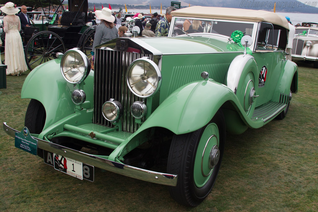 Rolls-Royce Phantom II Continental Barker Tourer - Chassis: 4PY - Entrant: William Maxwell Davis  - 2017 Pebble Beach Concours d'Elegance