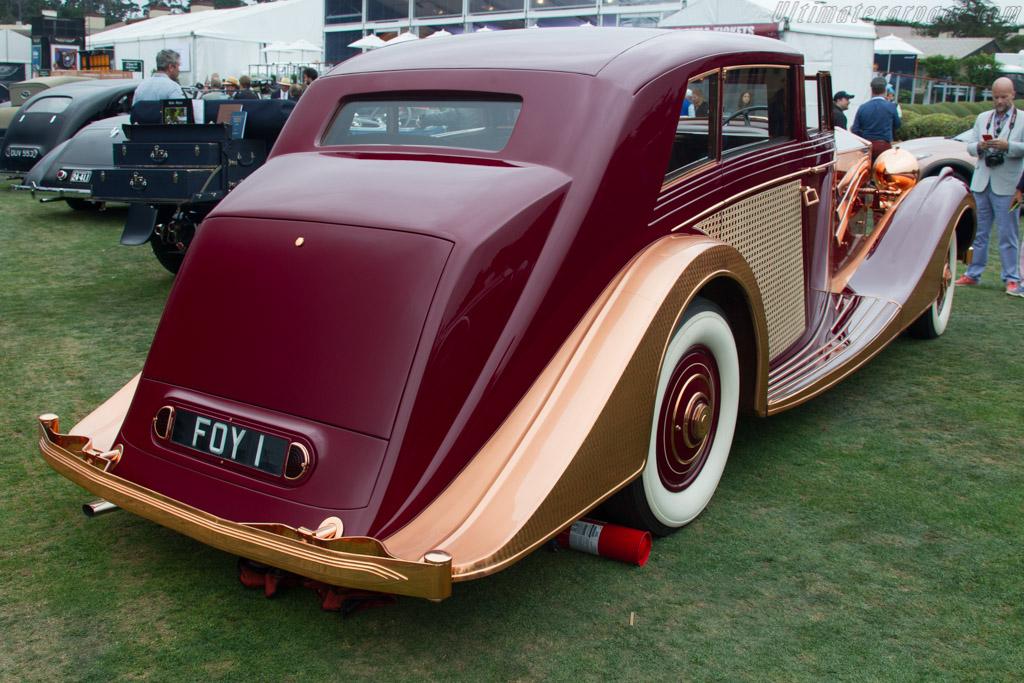 Rolls-Royce Phantom III Freestone & Webb Sedanca de Ville  - Entrant: Don & Janet Williams  - 2017 Pebble Beach Concours d'Elegance