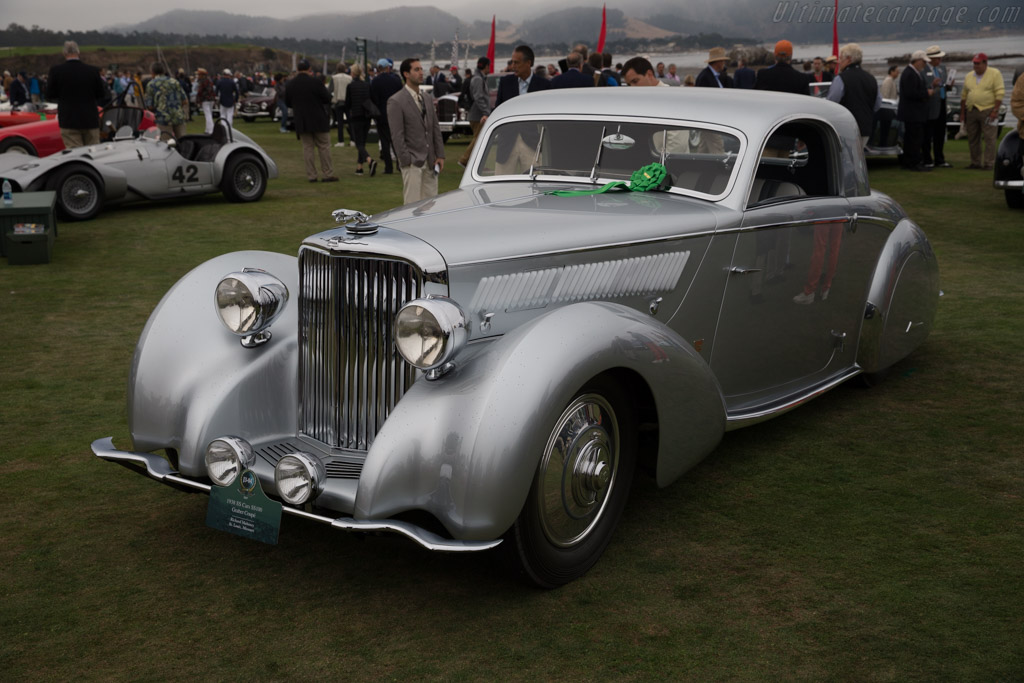 SS 100 Graber Coupe  - Entrant: Richard Mahoney  - 2017 Pebble Beach Concours d'Elegance