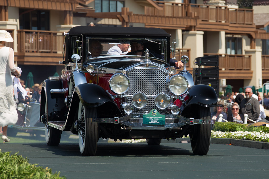 Stearns-Knight H 8-90 Philips Cabriolet  - Entrant: Brent Merrill  - 2017 Pebble Beach Concours d'Elegance