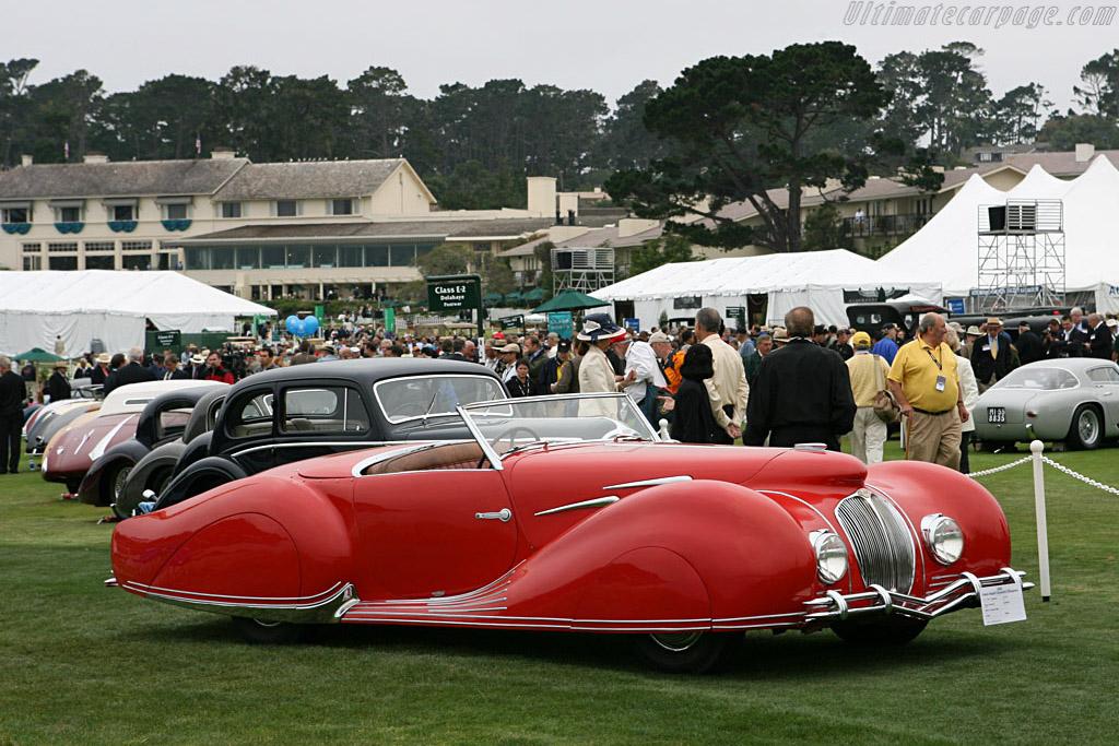 Delahaye 135 M Figoni & Falaschi Cabriolet    - 2006 Pebble Beach Concours d'Elegance
