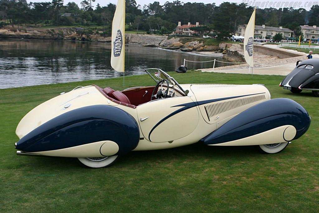Delahaye 135 M Figoni & Falaschi Torpedo Cabriolet    - 2006 Pebble Beach Concours d'Elegance