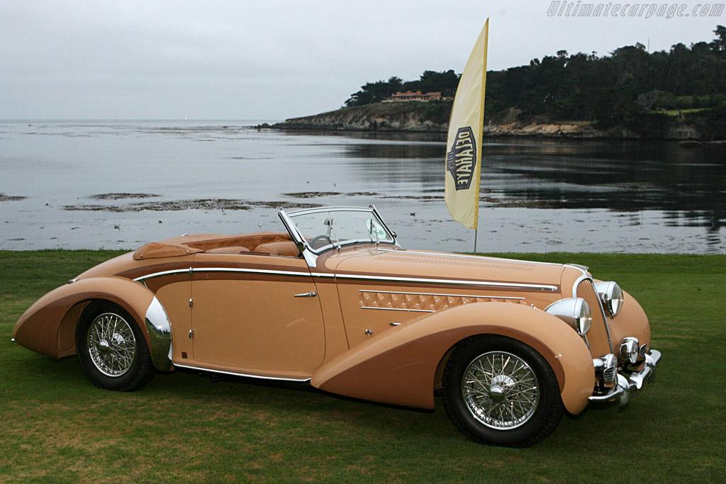 Delahaye 135 MS Chapron Cabriolet    - 2006 Pebble Beach Concours d'Elegance