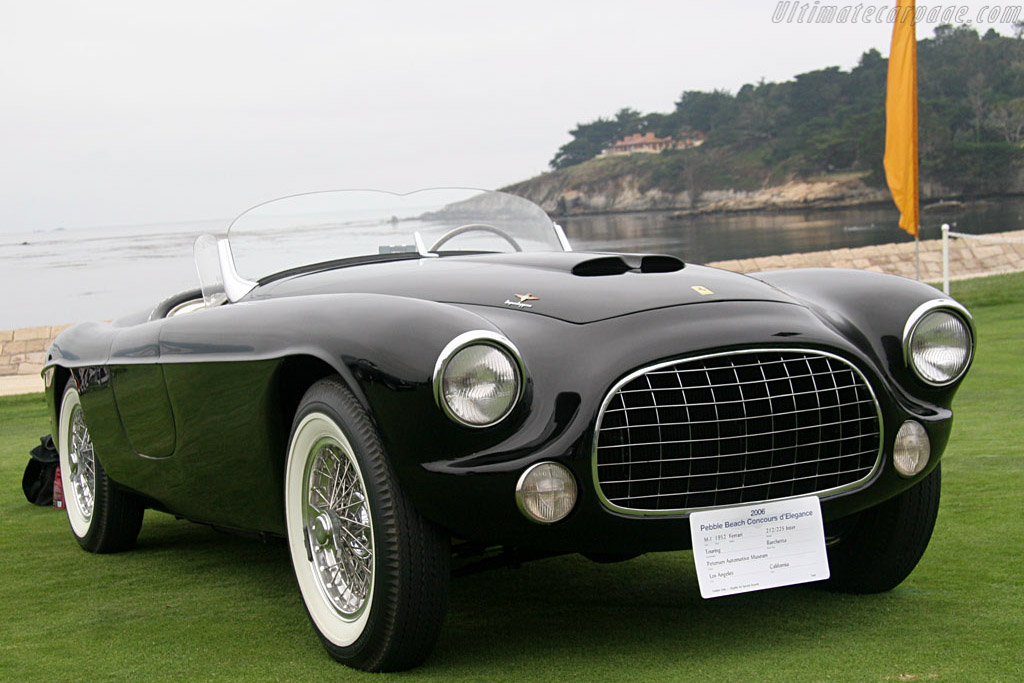 Ferrari 212/225 Inter Touring Barchetta - Chassis: 0253EU   - 2006 Pebble Beach Concours d'Elegance