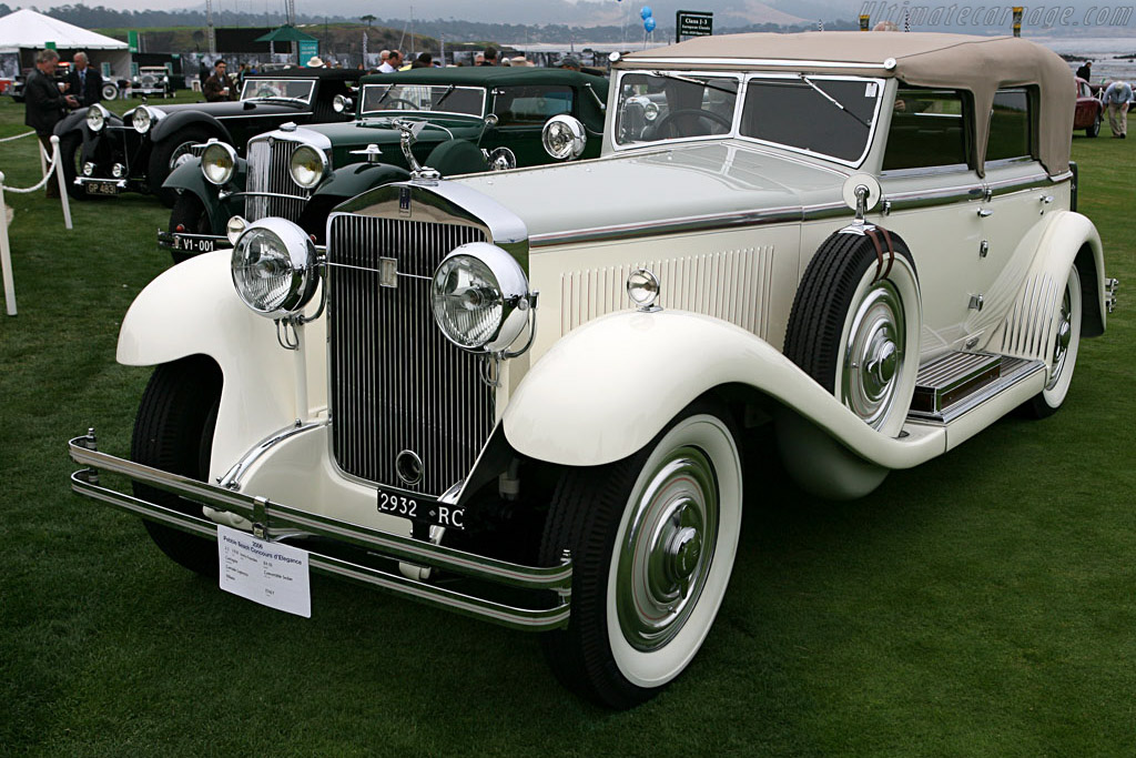 Isotta Fraschini 8A SS Castagna Convertible Sedan    - 2006 Pebble Beach Concours d'Elegance