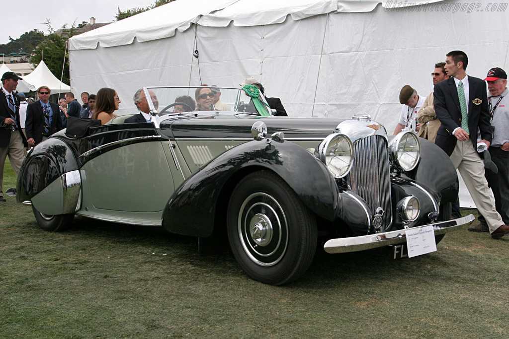 Lagonda V12 Rapide Drophead Coupe - Chassis: 14076 - Entrant: The Hon. Sir Michael Kadoorie  - 2006 Pebble Beach Concours d'Elegance