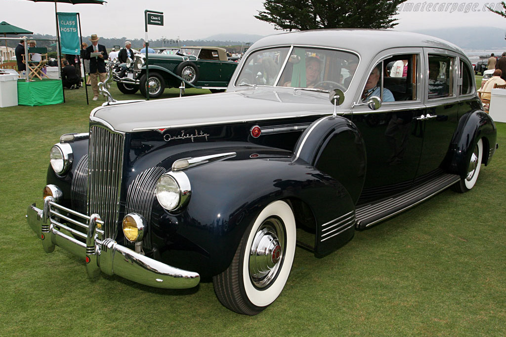 Packard 1908 LeBaron Touring Limousine    - 2006 Pebble Beach Concours d'Elegance