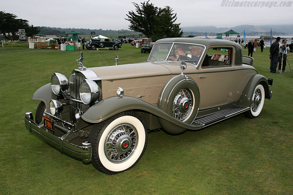 Packard 904 Dietrich Stationary Coupe    - 2006 Pebble Beach Concours d'Elegance
