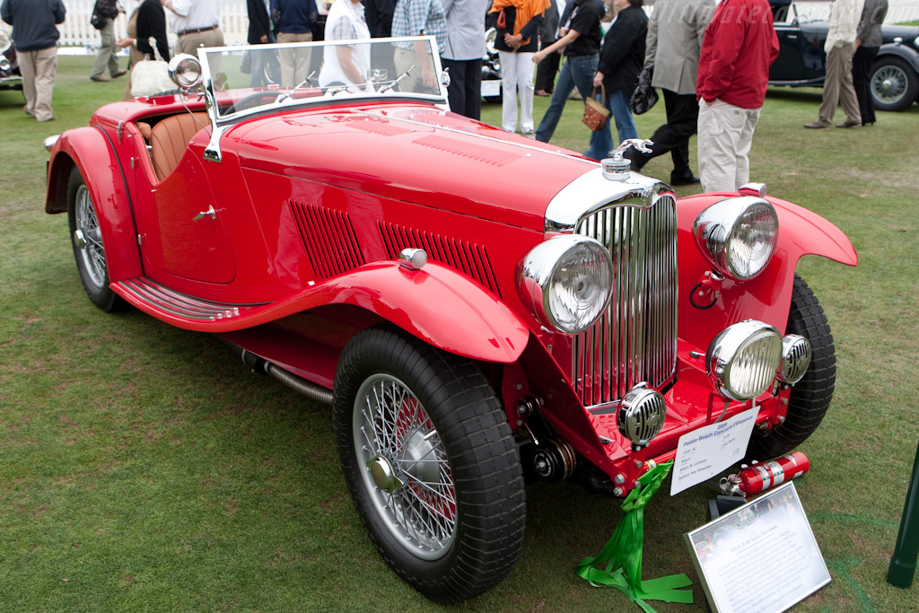 AC 16-80 March 2 Seat Sports    - 2009 Pebble Beach Concours d'Elegance
