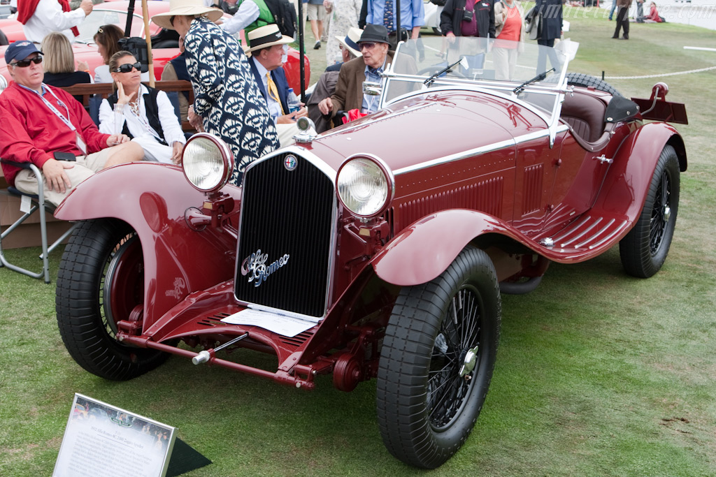 Alfa Romeo 8C 2300 Zagato Spyder - Chassis: 2211052 - Entrant: David and Giny Sydorick  - 2009 Pebble Beach Concours d'Elegance