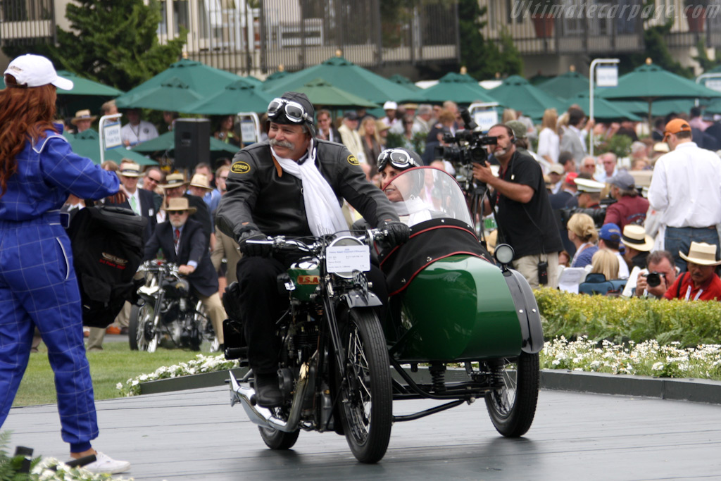 BSA W32-6 with Side Car    - 2009 Pebble Beach Concours d'Elegance