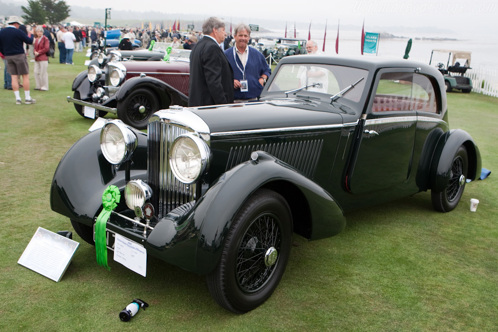 Bentley 3.5 Litre Bertelli Coupe    - 2009 Pebble Beach Concours d'Elegance
