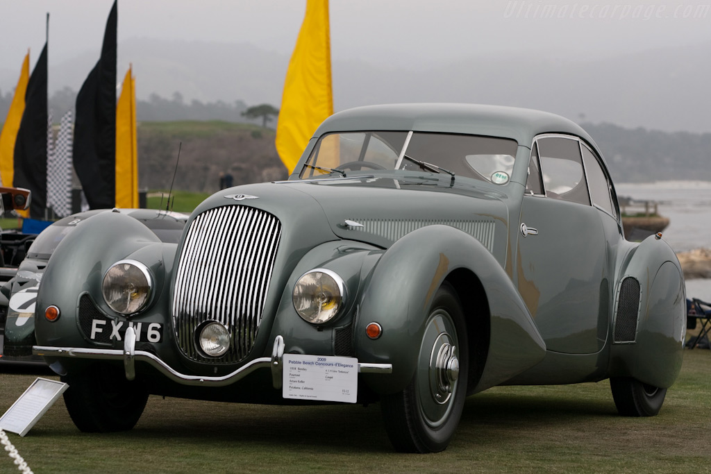 Bentley 4.25 Litre 'Embericos' Coupe    - 2009 Pebble Beach Concours d'Elegance