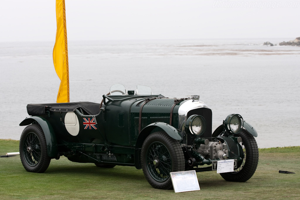 Bentley 4.5-Litre Blower - Chassis: HF3187   - 2009 Pebble Beach Concours d'Elegance