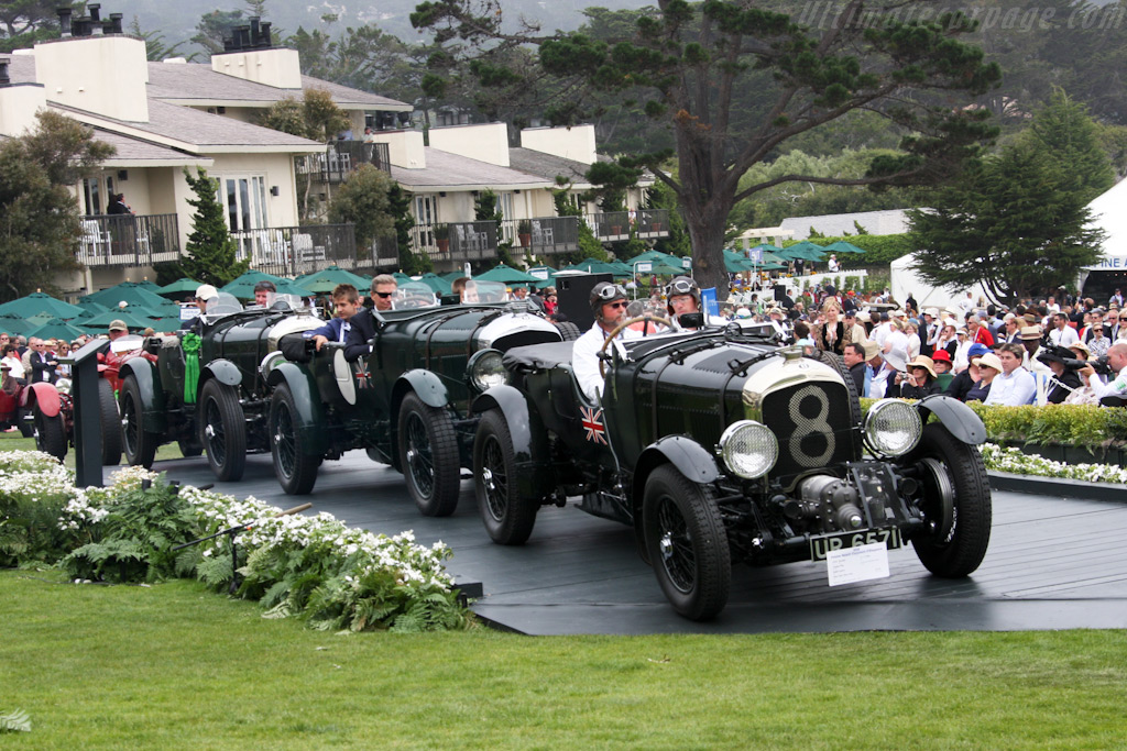 Bentley 4 5 Litre Blower Chassis Hr3976 2009 Pebble