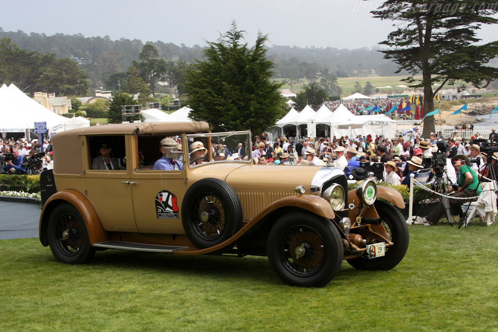 Bentley 6 1/2 Litre Mulliner Sedanca de Ville    - 2009 Pebble Beach Concours d'Elegance