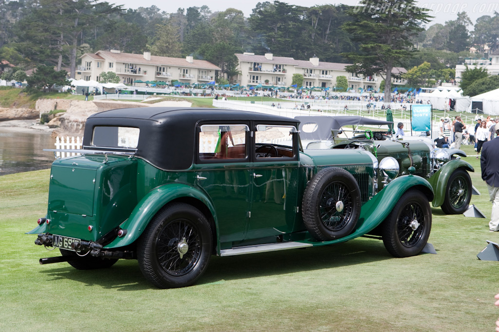 Bentley 8-Litre Mulliner Saloon    - 2009 Pebble Beach Concours d'Elegance