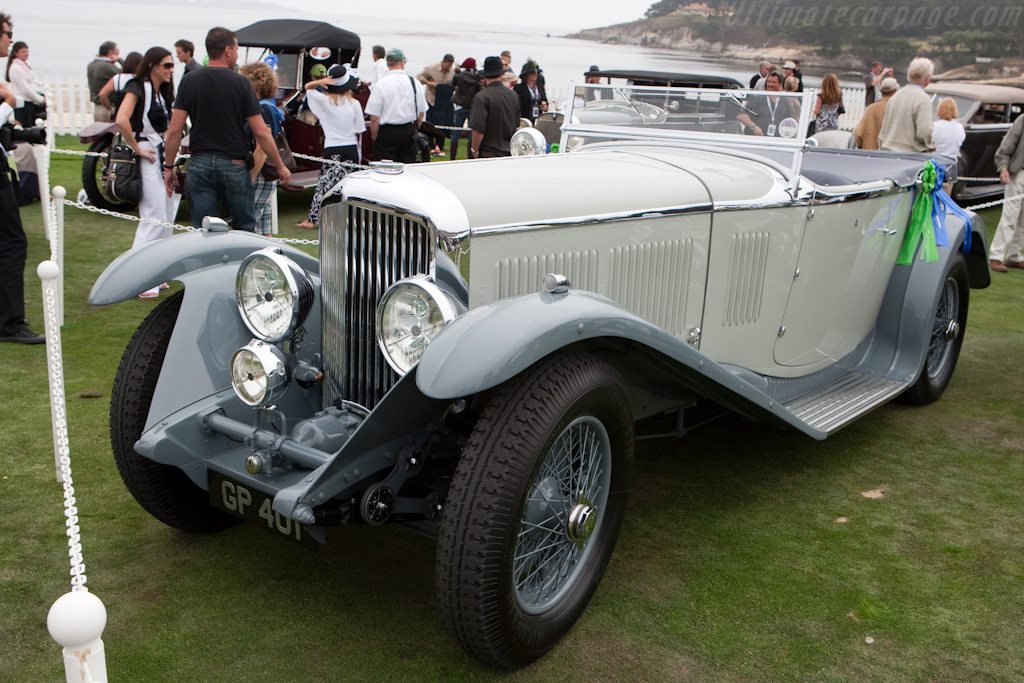 Bentley 8-Litre Vanden Plas Tourer    - 2009 Pebble Beach Concours d'Elegance