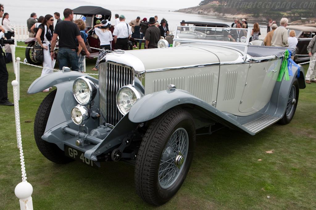Bentley 8-Litre Vanden Plas Tourer    - 2009 Pebble Beach Concours d'Elegance