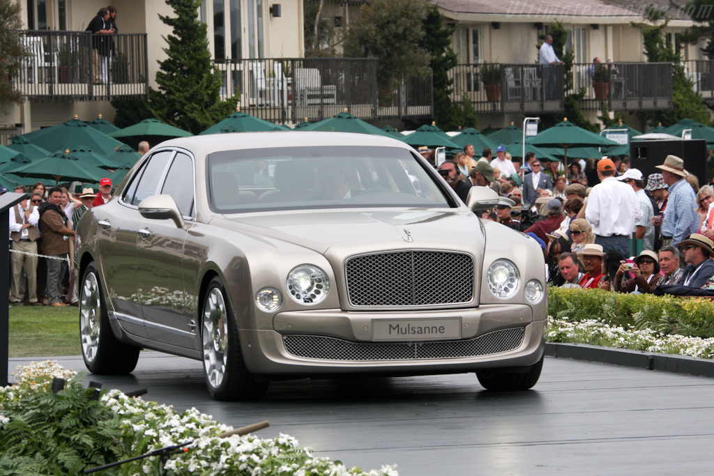 Bentley Mulsanne    - 2009 Pebble Beach Concours d'Elegance