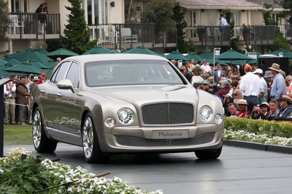 Bentley Mulsanne    - 2009 Pebble Beach Concours d'Elegance