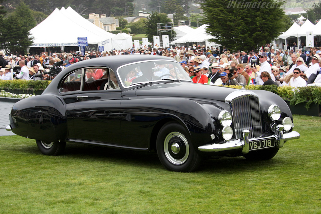 Bentley R-Type Continental Mulliner Sports Saloon - Chassis: BC38LC - Entrant: Peter G. Livanos  - 2009 Pebble Beach Concours d'Elegance