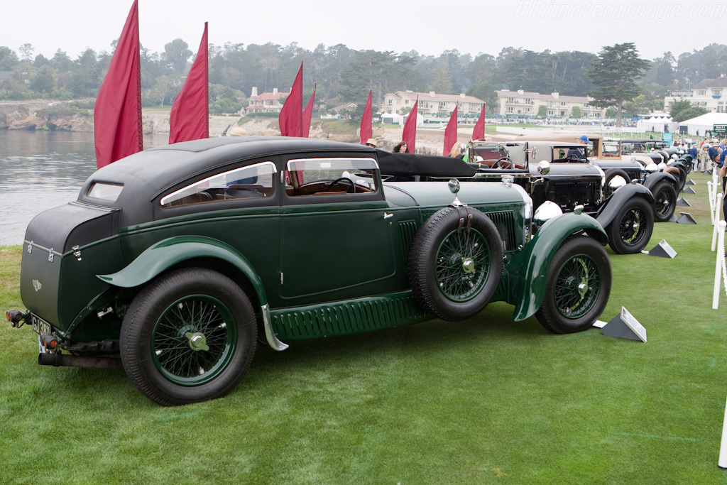 Bentley Speed Six 'Blue Train Special' - Chassis: HM2855   - 2009 Pebble Beach Concours d'Elegance