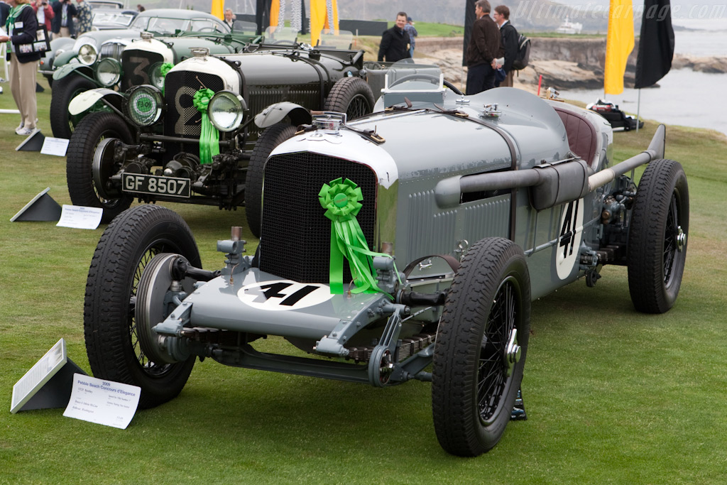 Bentley Speed Six 'Old No 1' - Chassis: LB2332   - 2009 Pebble Beach Concours d'Elegance