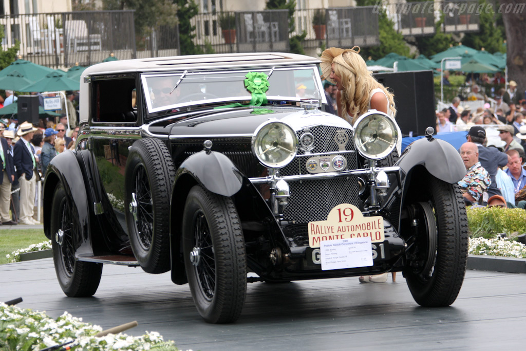 Bentley Speed Six Gurney Nutting Weymann Sportsman Coupe    - 2009 Pebble Beach Concours d'Elegance