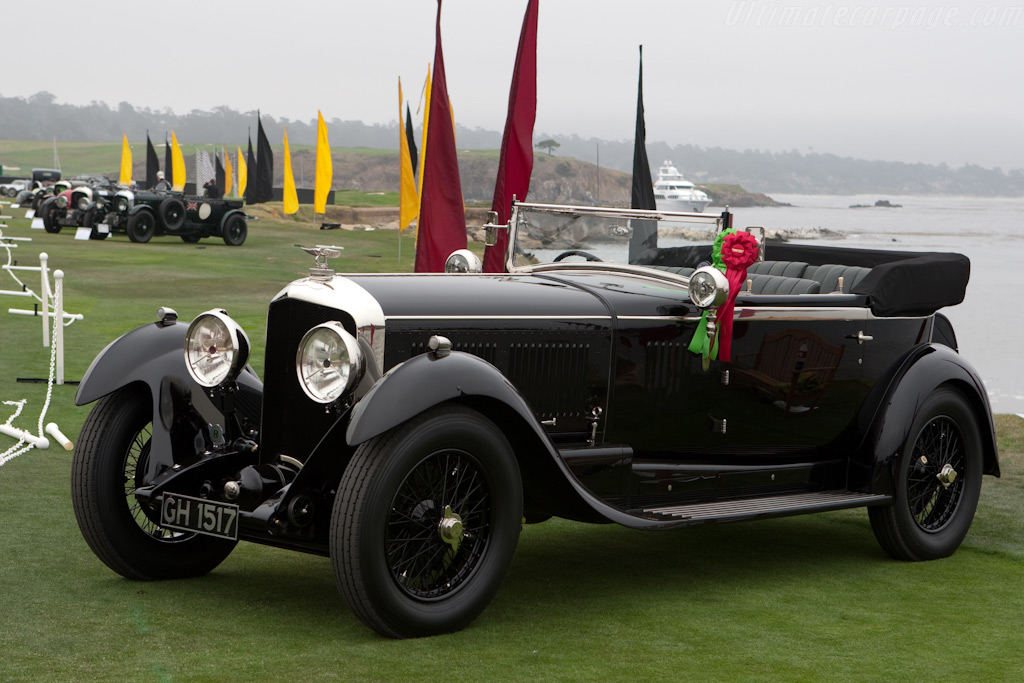 Bentley Speed Six Park Ward Sports 2 Seater    - 2009 Pebble Beach Concours d'Elegance