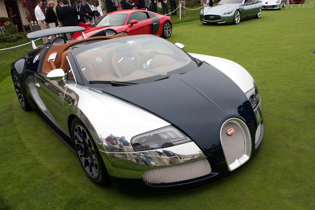Bugatti 16.4 Veyron Grand Sport Sang Bleu    - 2009 Pebble Beach Concours d'Elegance