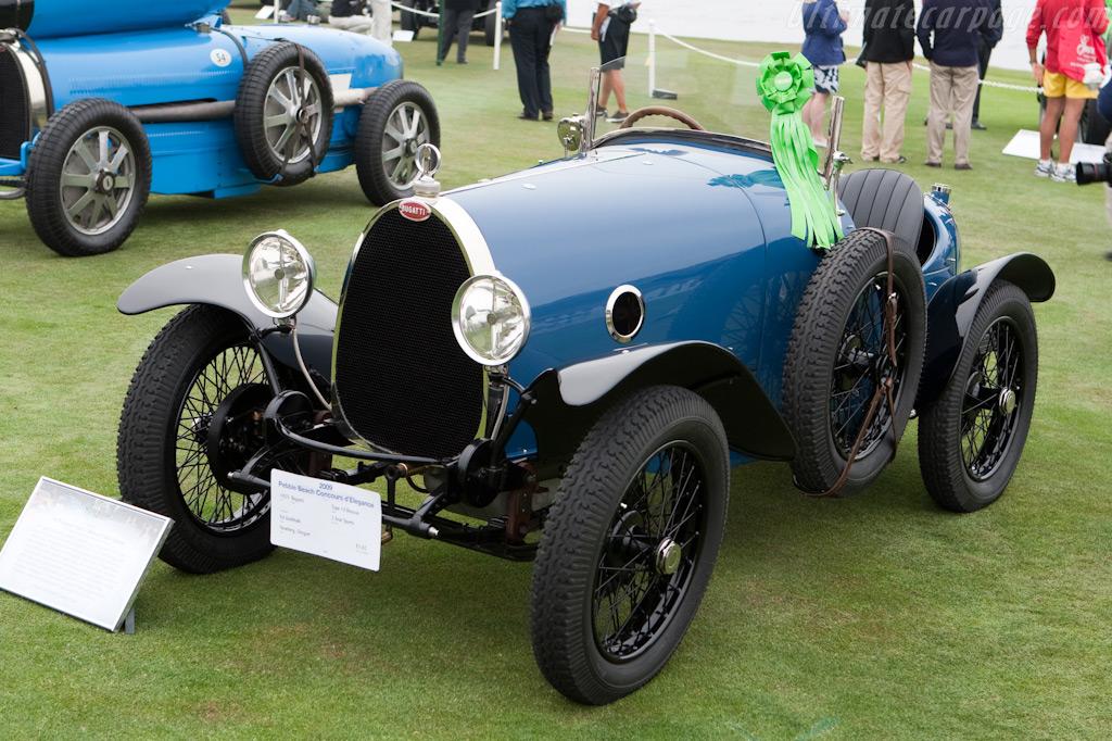 Bugatti Type 13 Brescia  - Entrant: Ed Godshalk  - 2009 Pebble Beach Concours d'Elegance