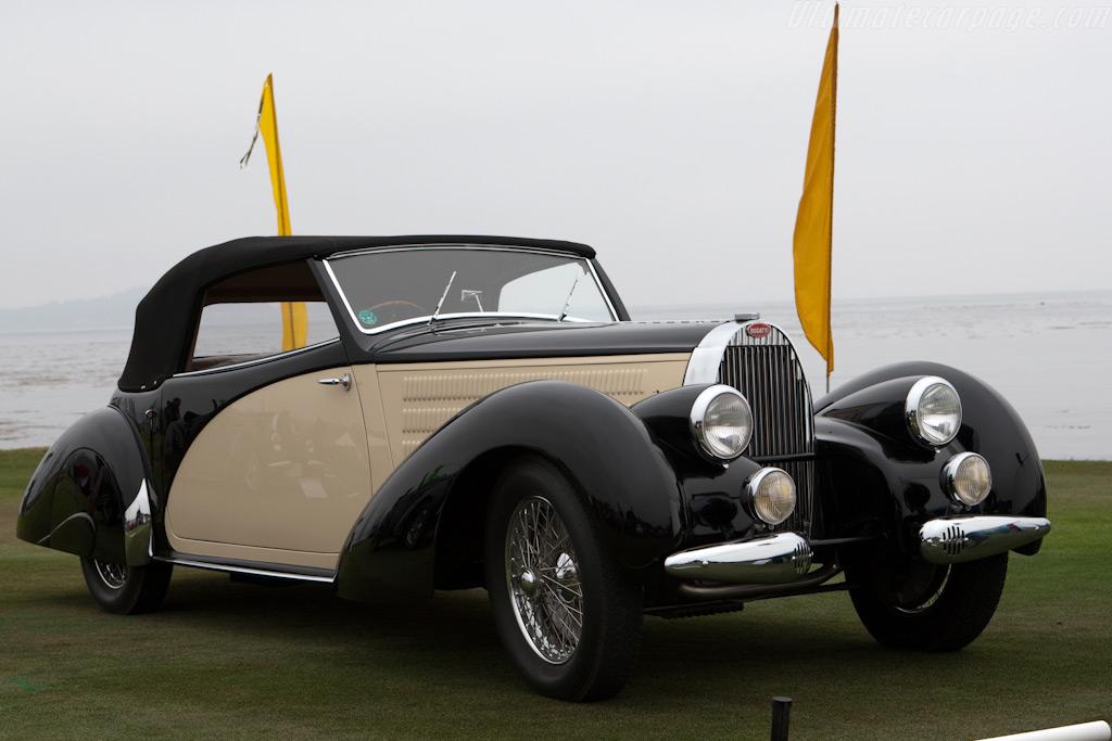 Bugatti Type 57 Graber Cabriolet    - 2009 Pebble Beach Concours d'Elegance
